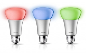 Philips Hue Smart Colored Light Bulbs