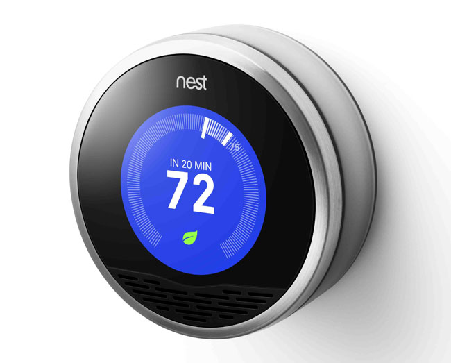 smart thermostats like those from honeywell ecobee and nest. Black Bedroom Furniture Sets. Home Design Ideas