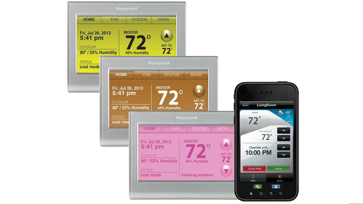 honeywell thermostat how to set up