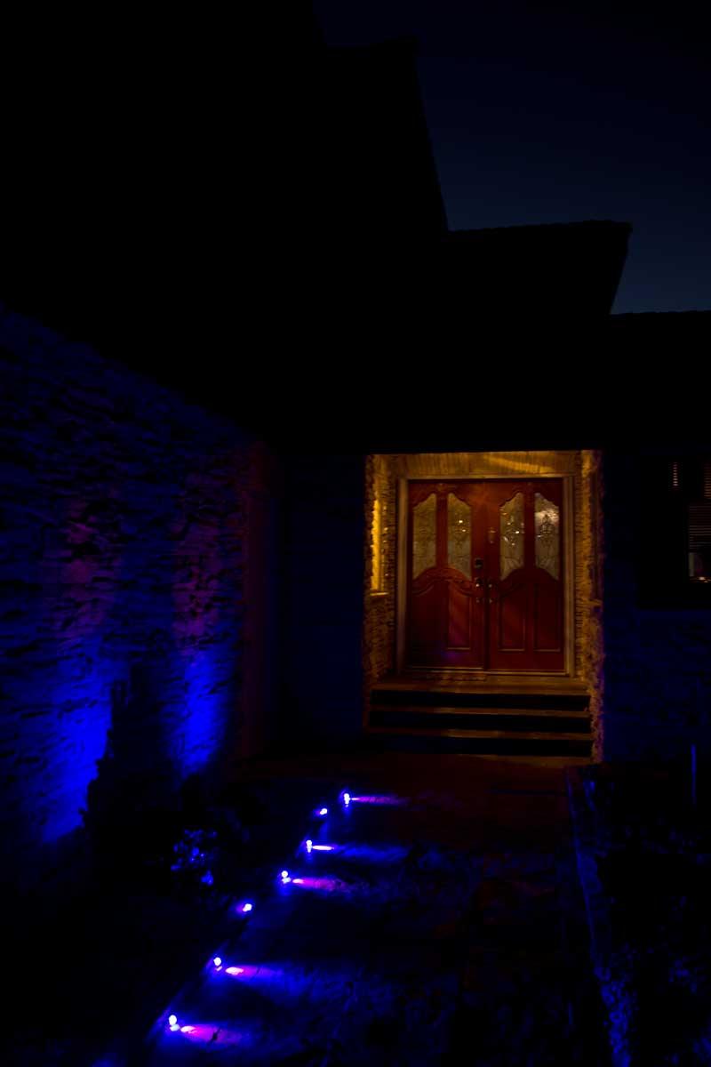 Outdoor Christmas Lights No Plug