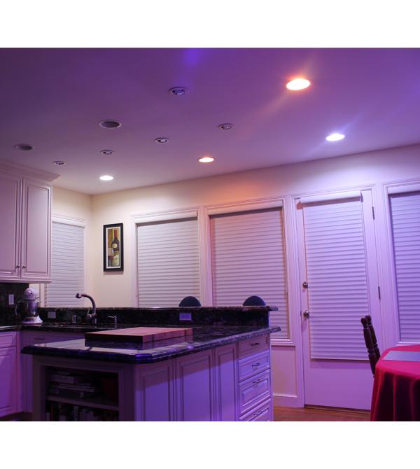 Lifx Color 1000 Br30 Smart Bulb Review Bright Color