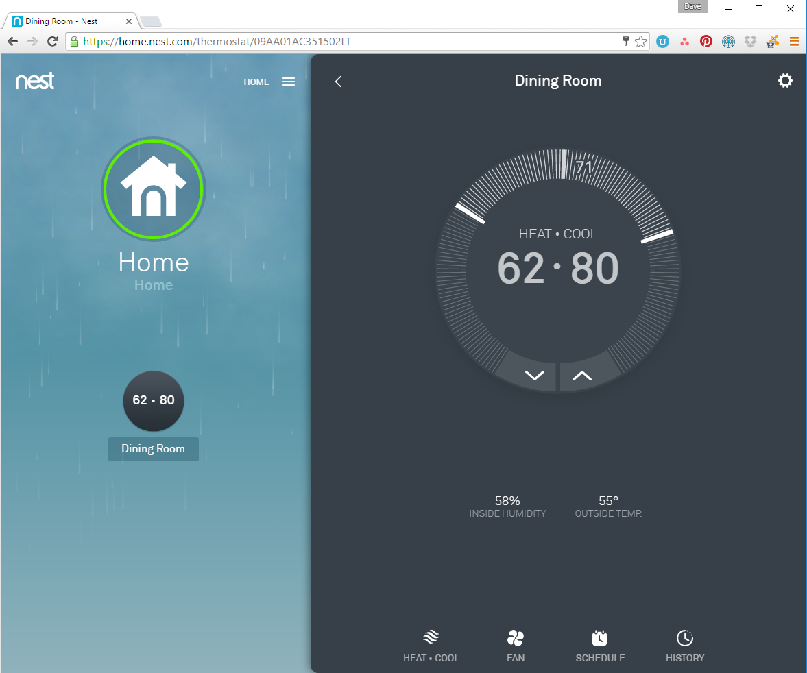 Nest 3rd gen learning thermostat review install setup apps and web - Nest thermostat stylish home temperature control ...