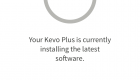 Kevo Plus App Software Update Screen