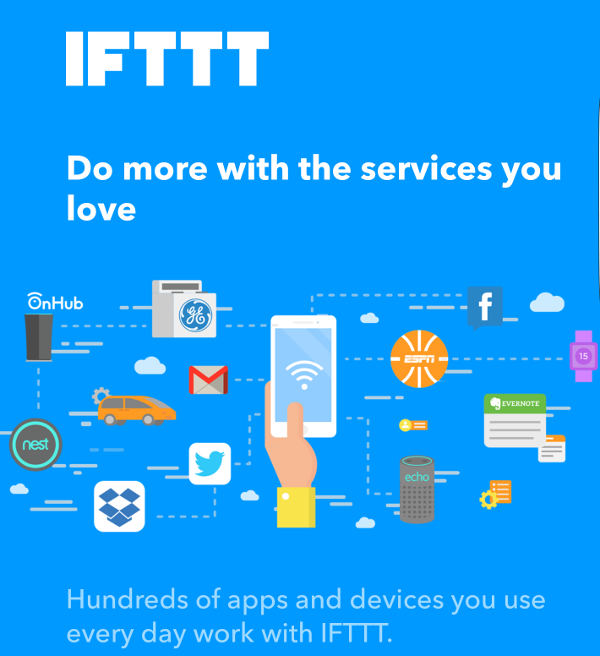 IFTTT bringing your services together