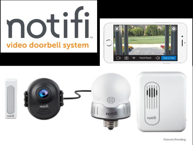 Notifi video doorbell system