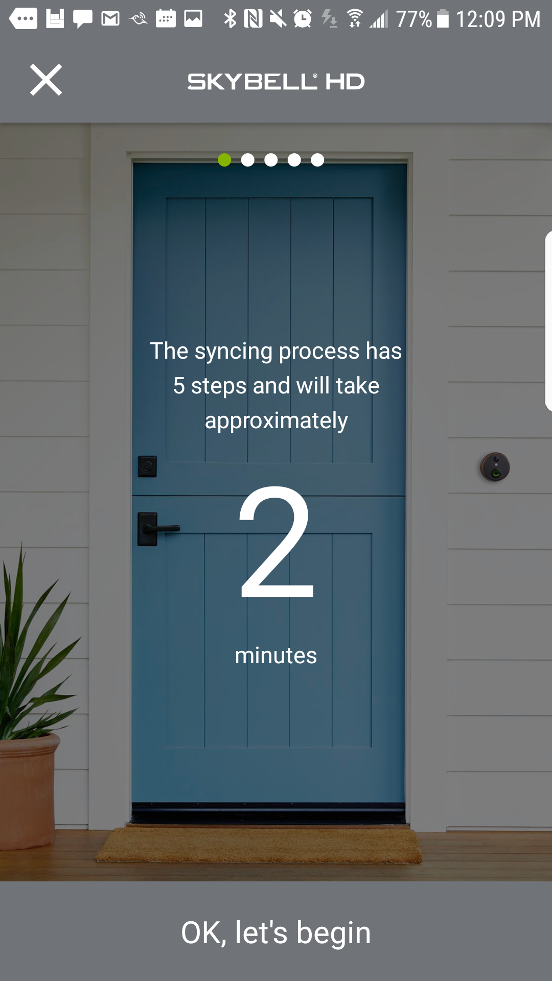 Skybell Hd Review Setting Up The Video Doorbell