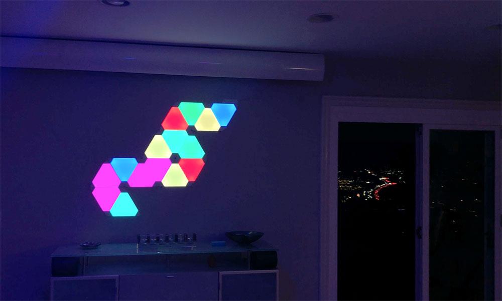 Nanoleaf Aurora Smart Home Color Changing Lighting