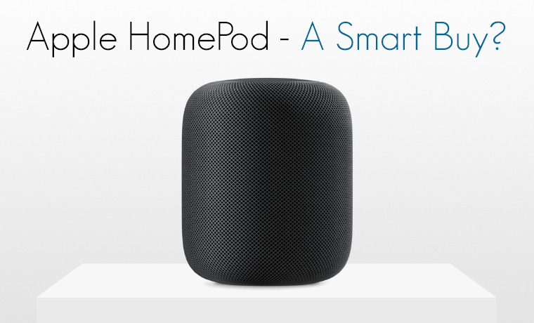 Apple Homepod Siri Enabled Smart Speaker A Smart Buy