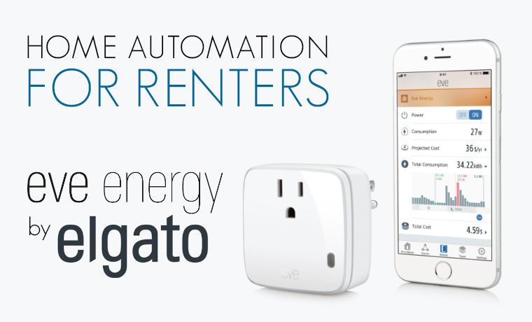 Home Automation for Renters Elgato Eve Featured Image