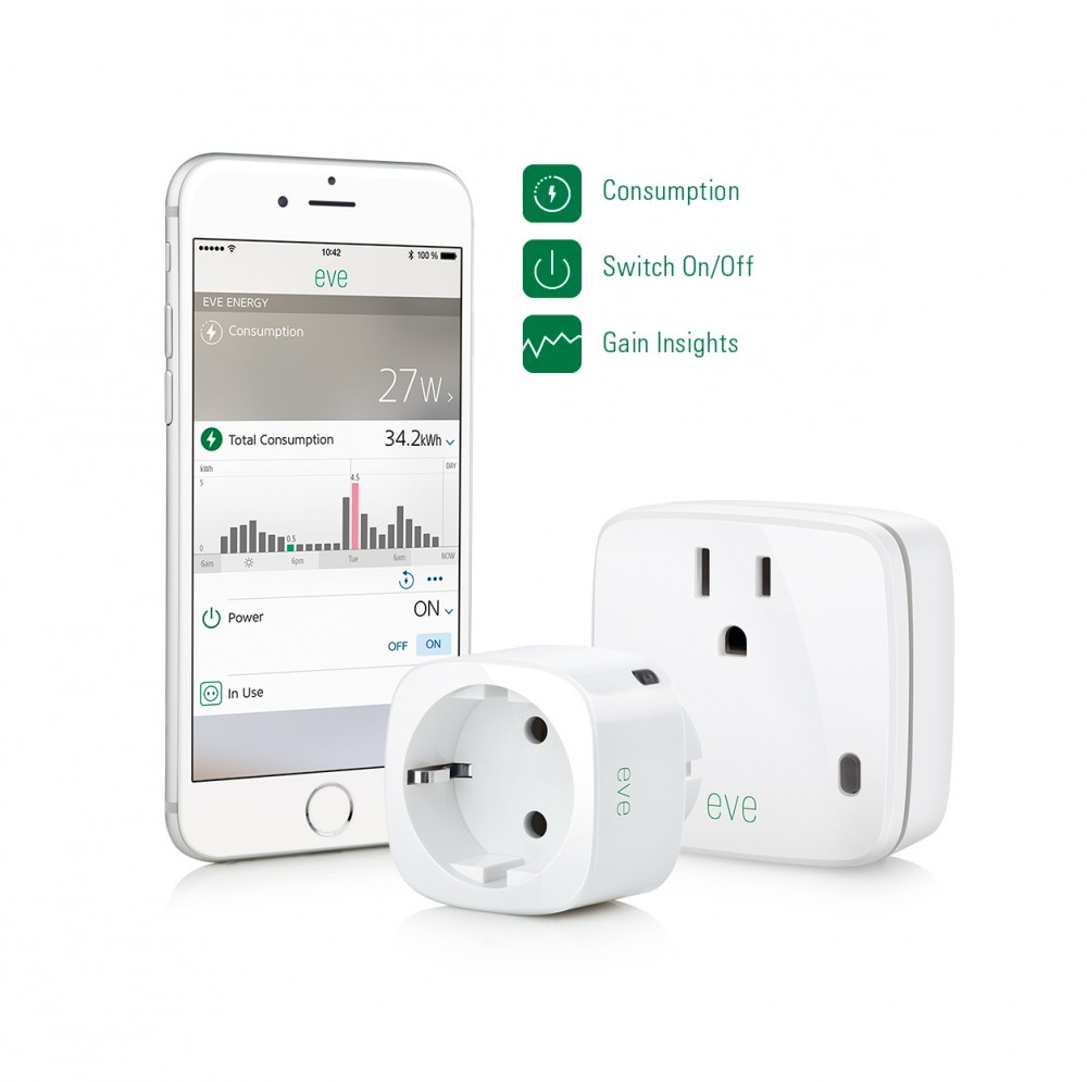 Eve Energy Homekit Outlet Measures Energy Usage Review