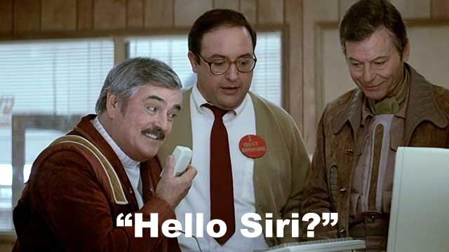 Siri - Apple's Personal Assistant in Star Trek?