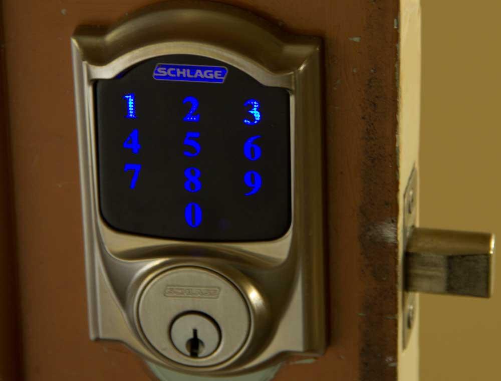Schlage Camelot 619 Smart Lock Review Installation