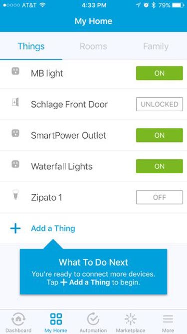 Schlage Camelot 619 Smart Lock Review - Controlling with App