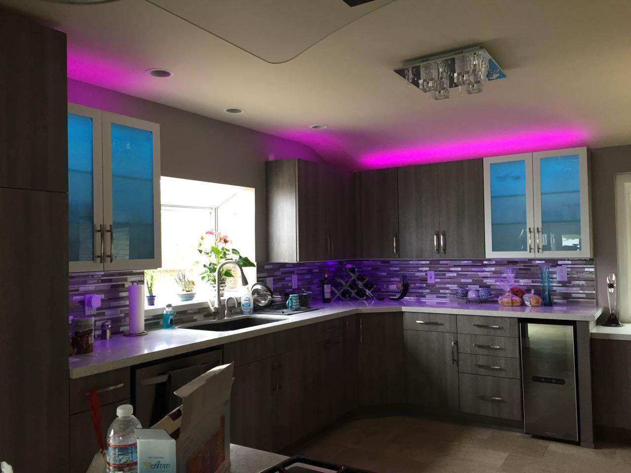 Sylvania Lightify Flex Rgbw Lighting Review Smart Strip