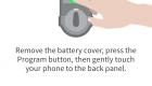 Kevo Plus App Pairing A Lock Screen