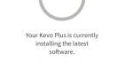 Kevo Plus App Software Update Screen