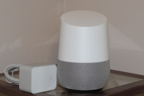 Google Home and power adapter