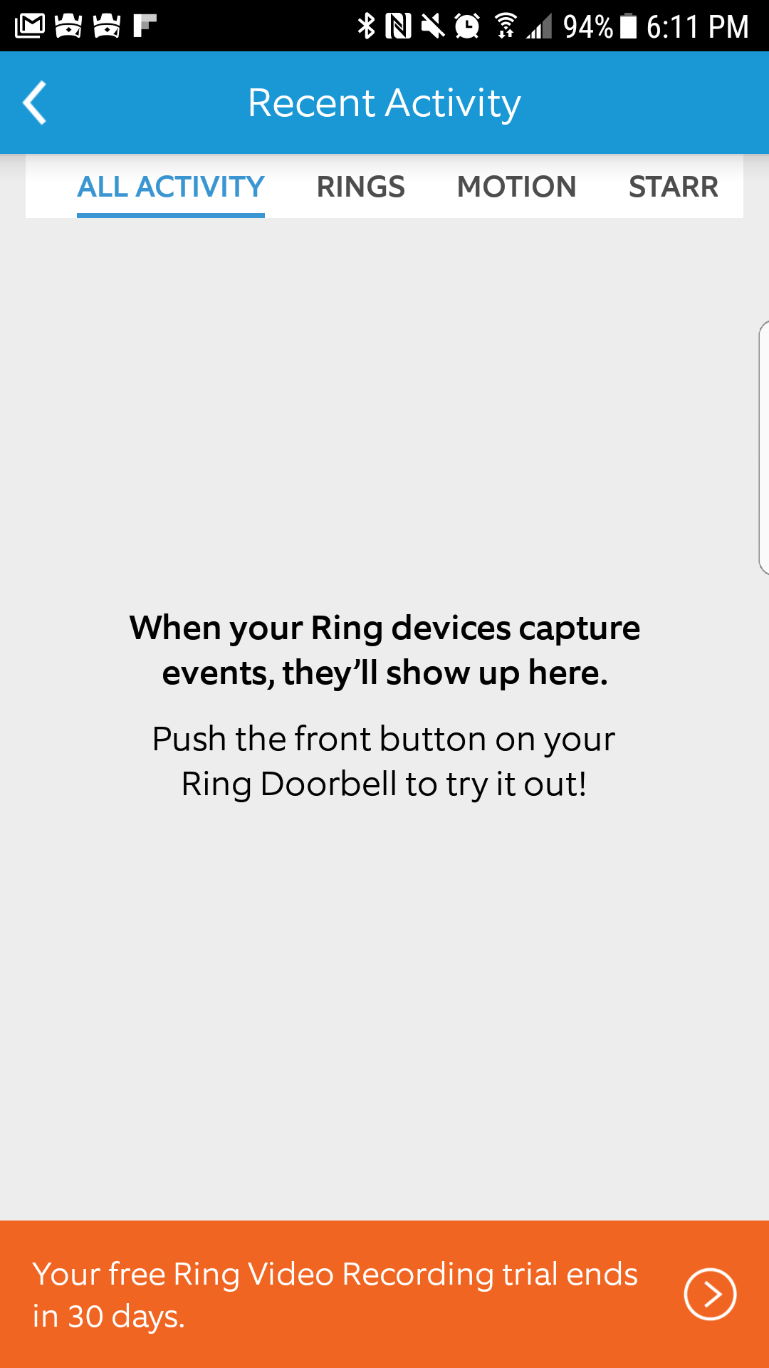Ring Video Doorbell - Ring Mobile Application | Smarter Home Automation