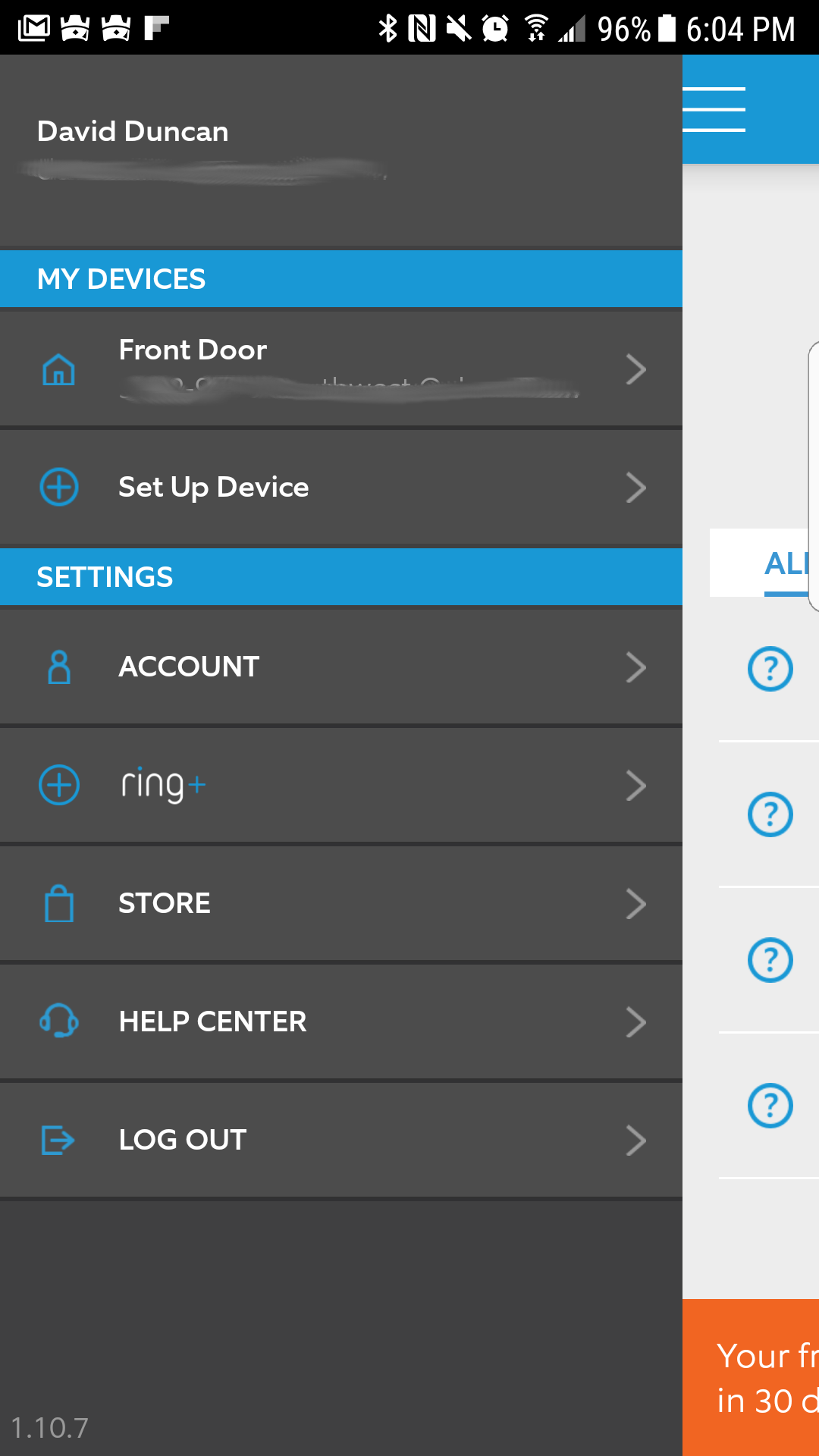 Ring Video Doorbell Ring Mobile Application Smarter