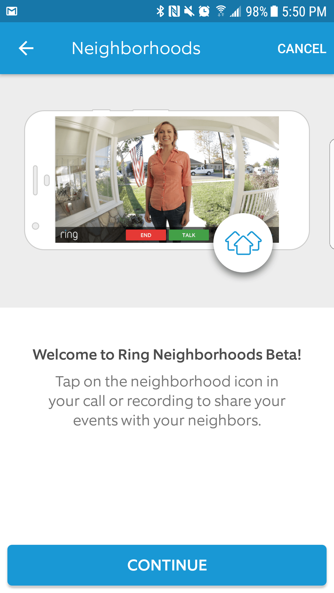 Ring Video Doorbell - Ring Mobile Application | Smarter Home