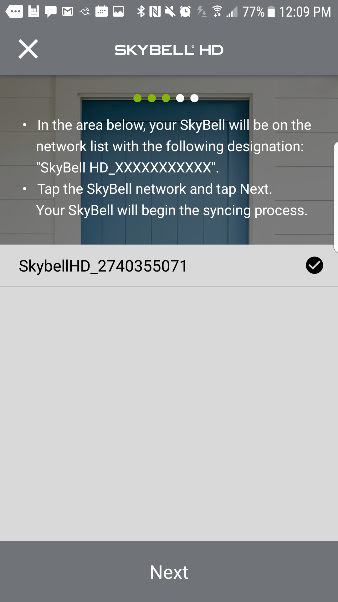 Skybell Hd Review Trim Plus Silver Wiring Diagram Once The Account Is Created You Are Ready To Add Your App