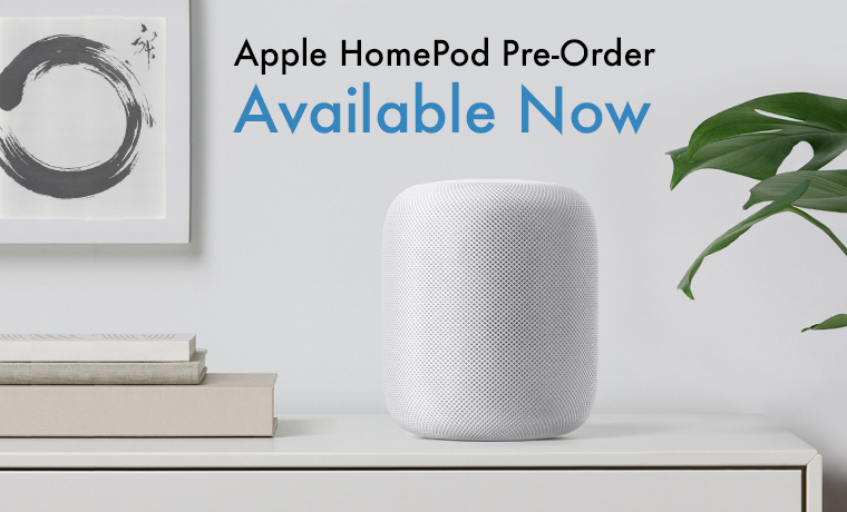Apple HomePod Pre-Order Available