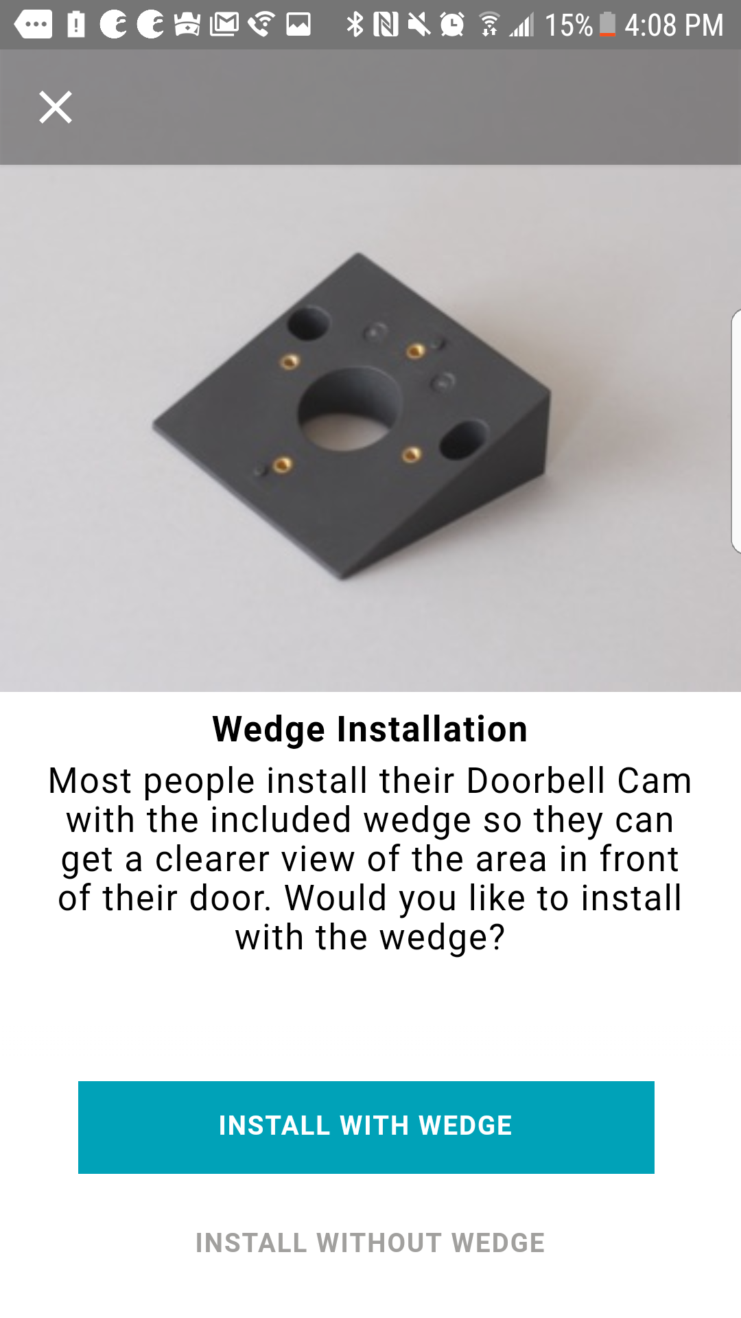 August Doorbell Cam Pro Install Mounting And The App Review Wiring Installation First Step In Is To Pick Type Of Material You Will Be On