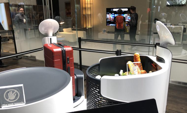 LG CLOi Service Robots