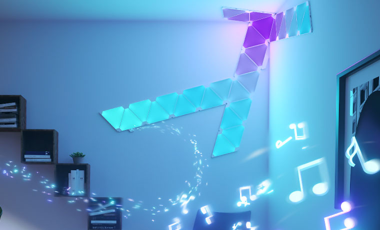 Aurora Nanoleaf Rhythm Hero Shot