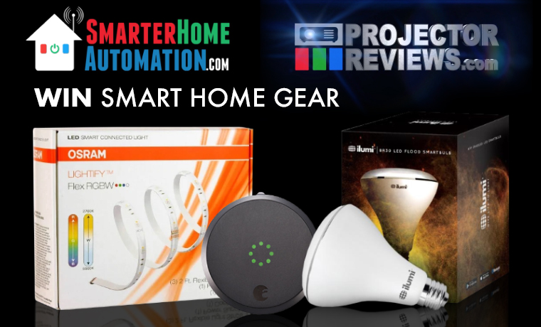 Projector Reviews Smarter Home Automation June Sweepstakes Products